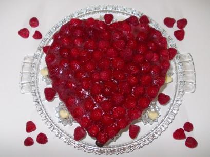 Raspberry Pie - Himbeerkuchen